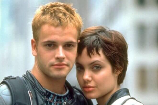 Angelina Jolie и Jonny Lee Miller