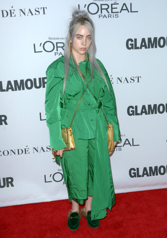 Billie Eilish на премии Glamour