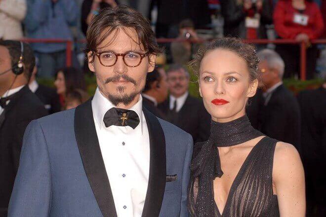 Johnny Depp и Vanessa Paradis