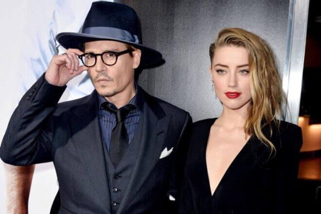 Johnny Depp и Amber Heard