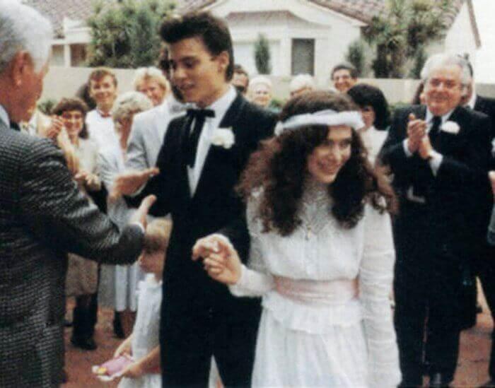 Johnny Depp и Lori Ann Allison