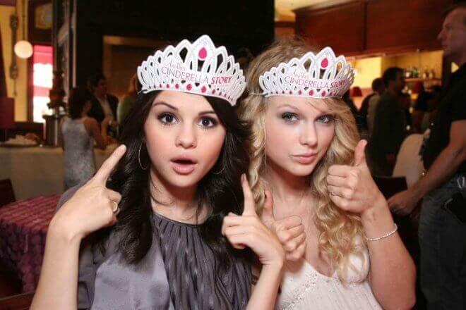 Selena Gomez и Taylor Swift
