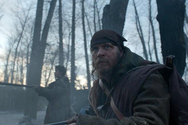 Tom Hardy в фильме Выживший