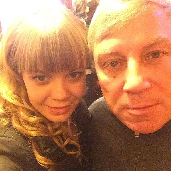 Алла Михеева с отцом