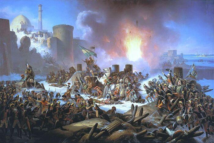 День взятия турецкой крепости Измаил