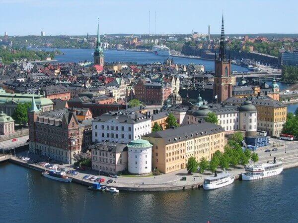 20 самых мирных стран в мире - Швеция