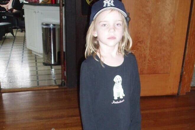 Billie Eilish в детстве