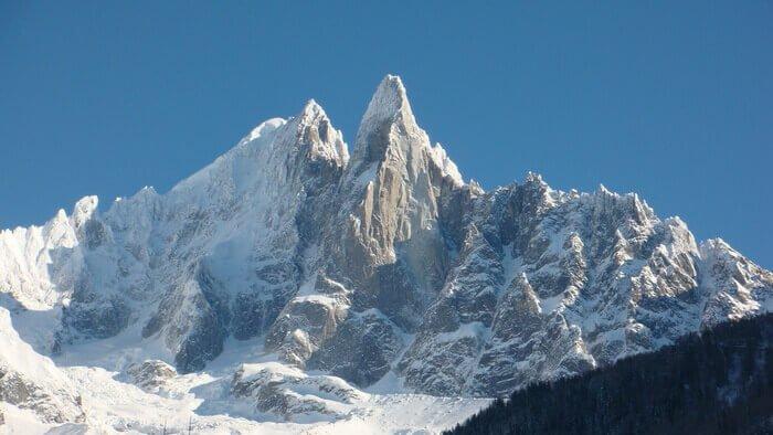 Монблан массив, Альпы, Франция