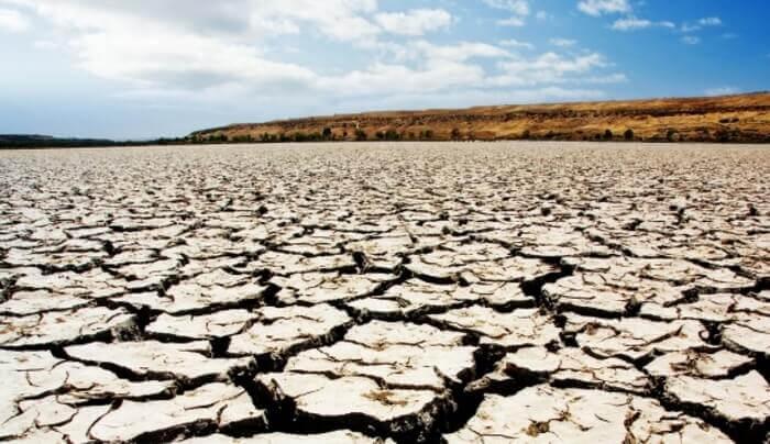 почва во время засухи