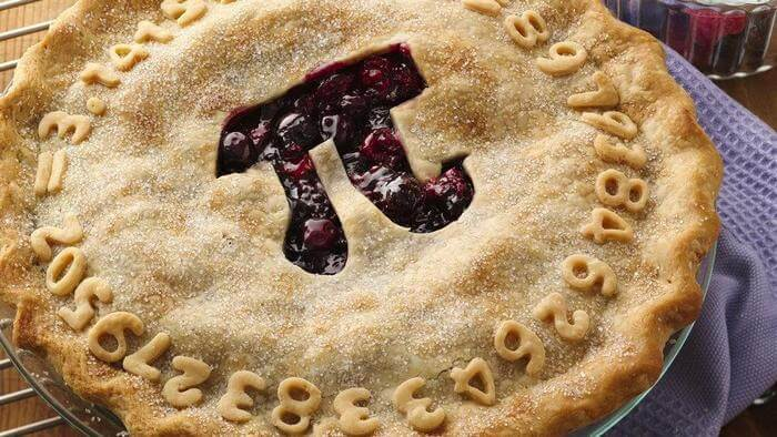 пирог с числом Пи