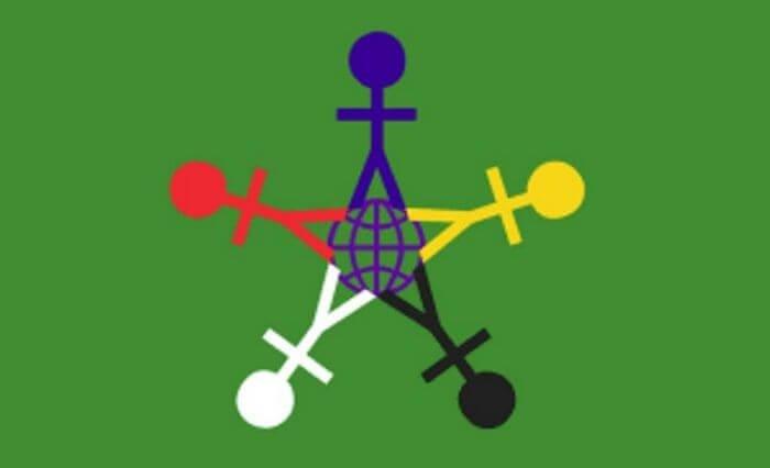 флаг Всемирного дня ребенка
