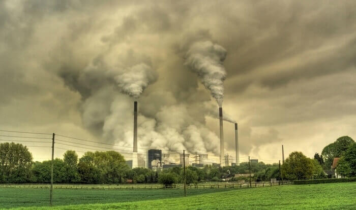 выброс CO2 в атмосферу