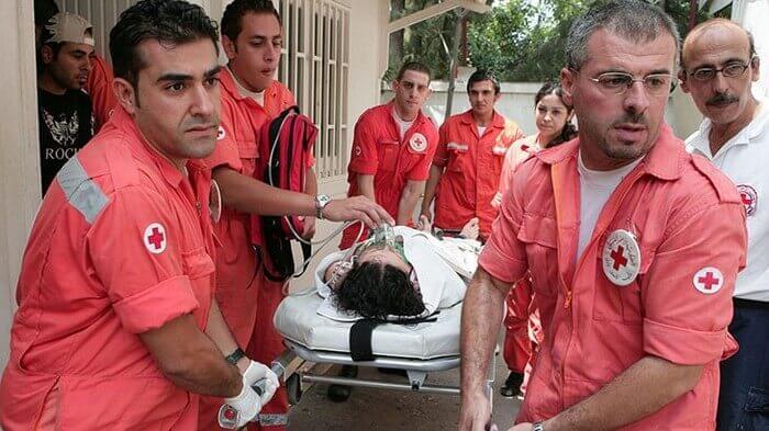 добровольцы красного креста