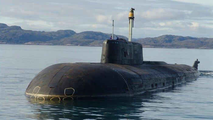 подводная лодка Антей