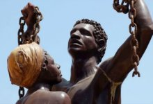 памятник жертвам работорговли