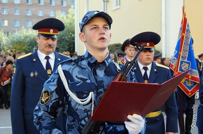 принятие присяги в академии ФСИН
