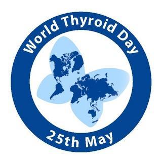 эмблема дня щитовидной железы