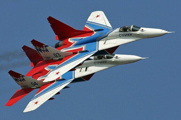 воздушные силы России