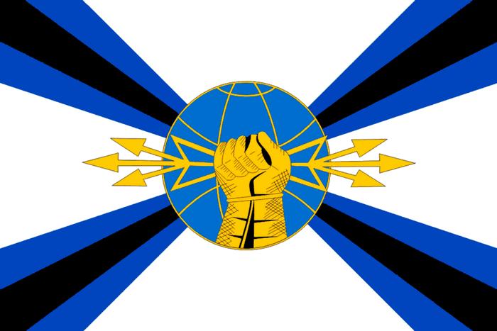флаг войск РЭБ