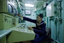 связист на корабле