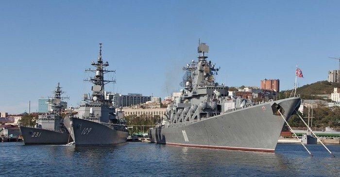 """крейсер """"Варяг"""", Владивосток"""
