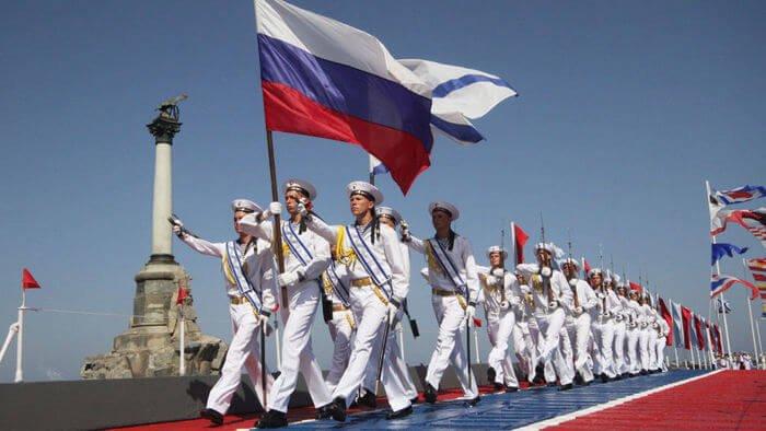 парад ВМФ в Петербурге