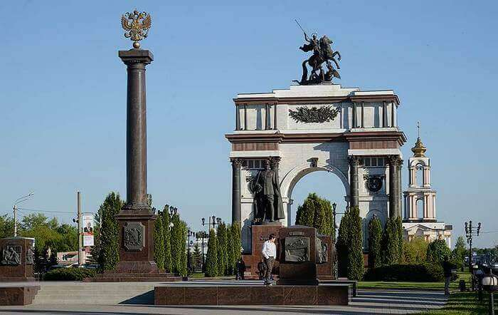 мемориальный комплекс Курская дуга