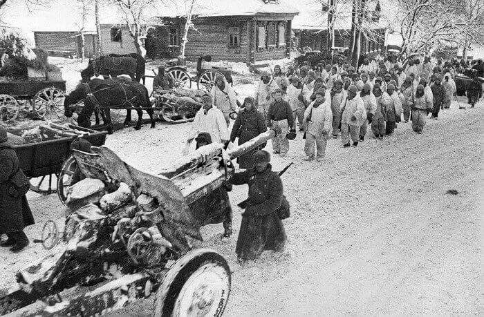 наступление советских войск