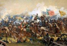 Полтавская битва - диарама