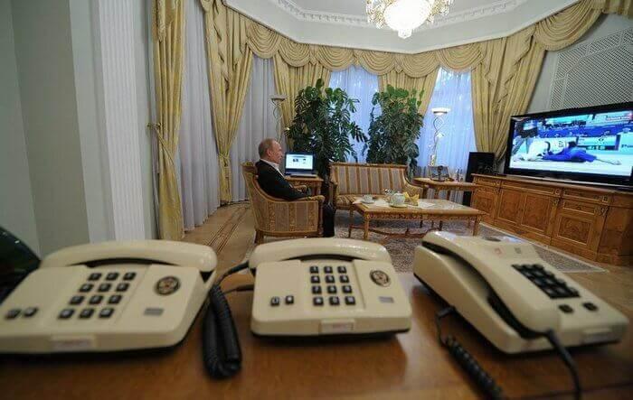 правительственная связь в кабинете президента