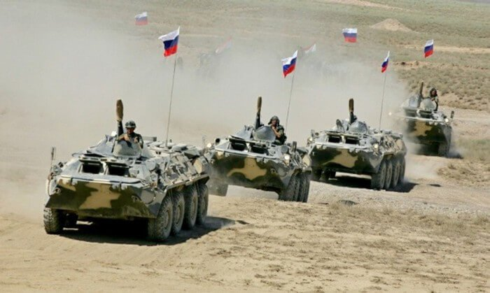 русские войска за границей