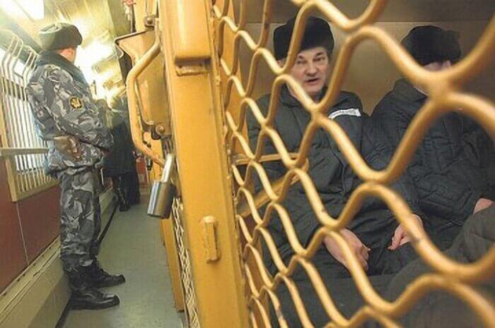 этапирование заключенных