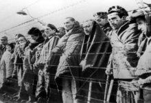 узники концлагеря