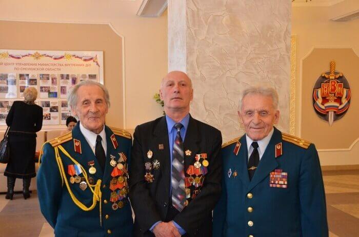 ветераны МВД