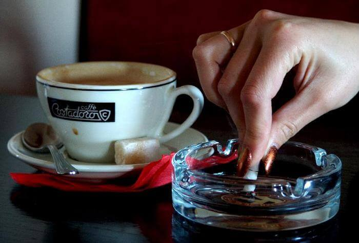 вред кофеина сигареты