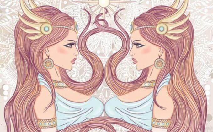 знак зодиака Женщина-Близнецы