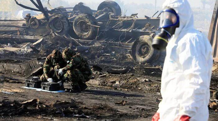жертвы химического оружия
